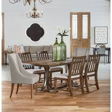 trestle table double pedestal dining tables amish