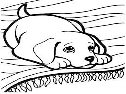 christmas dog coloring pages coloring