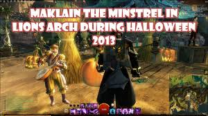 guild wars 2 maklain the minstrel in lion u0027s arch during halloween