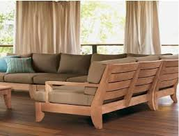 wooden corner sofa set grade a teak wood luxurious sofa set sectional collection sb 5