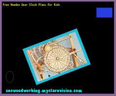 wooden clock plans dxf free 151432 woodworking plans and