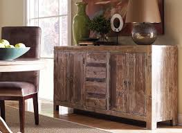 paint colonial style at rustic buffet cabinet