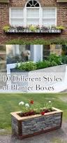 Window Boxes Planters by Best 25 Planter Boxes Ideas On Pinterest Building Planter Boxes