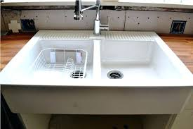 double bowl farmhouse sink with backsplash 36 christina double bowl farmhouse sink with high backsplash double