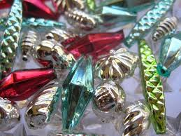 29 best vintage mercury glass christmas ornaments images on