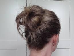 howtododoughnut plait in hair hair covered bun donut beauty best friend uk beauty blog