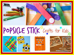 over 15 popsicle stick crafts for kids u2013 3 boys and a dog