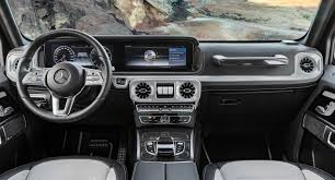 mercedes benz g class 2017 mercedes benz reveals a cushier 2019 g class interior roadshow