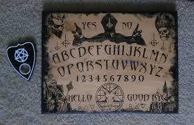 Ouija Coffee Table by Made A Custom Ouija Board Of Husband U0027s Favorite Band Ghost