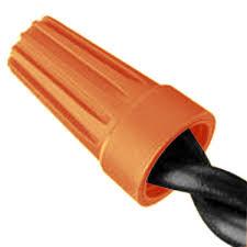 orange wire nuts wire connector 22 16 gauge