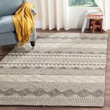 found it at wayfair billie hand tufted gray ivory area rug