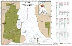 Gas Map Maps And Data Energy Mines And Resources Government Of Yukon