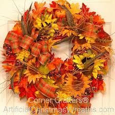 fall wreaths thanksgiving wreath autumn wreaths from