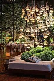 Garden Candle Chandelier Awesome Candle Chandelier In Lounge Area Of Event Also The