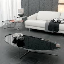 Glass Oval Coffee Table by Oval Glass Coffee Table Living Room Transitional With Bay Window
