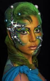 Mermaid Halloween Makeup Ideas 135 Best Mermaid Makeup Images On Pinterest Make Up Makeup And