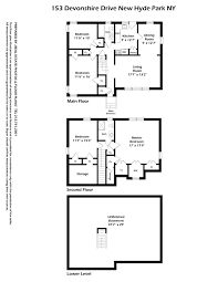 169 Fort York Blvd Floor Plans by 153 Devonshire Dr Herricks Park Circle New Hyde Park Ny 11040