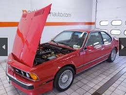 bmw cars for sale by owner one owner 56k mile 1988 bmw m6 for sale german cars for sale
