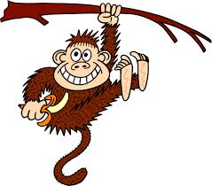 hanging monkey picture free download clip art free clip art