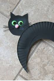 Black Cat Halloween Crafts 20 Best Easy Halloween Crafts Images On Pinterest Halloween