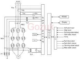 soft starter wiring diagram soft wiring diagrams instruction