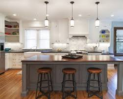 decorative kitchen islands small kitchen wooden island with open shelves white pendant