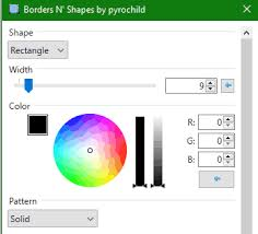 how to add border to selection in paint net