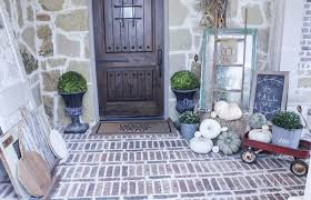 Fall Patio My Vintage Farmhouse Fall Porch Pumpkins Mums U0026 Vintage Finds