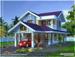 narrow lot houses small flat roof stories house keralahousedesigns narrow lot