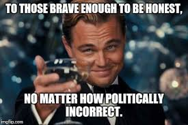 Politically Incorrect Memes - political correctness is a self deluding ill fated attempt to pick