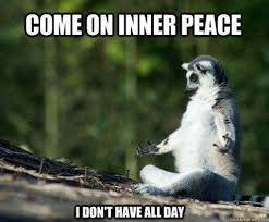 Peace Meme - the perfect inner peace meme whoever put this together is awesome