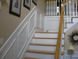 Wainscoting On Stairs Ideas 52 Best Stairs Redo Images On Pinterest Stairs Basement Ideas