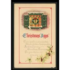 1922 merry greetings postcard archie cbell east