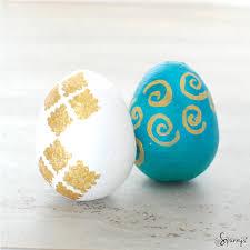 easter egg ornaments easter egg ornaments easy diy ideas spunnys