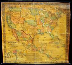 Map Of The United States And Mexico by North America Centered World Wall Map Mapscom Upside Down North