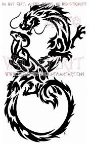 infinity dragon and ram tribal design by wildspiritwolf on deviantart