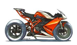 ktm rc9 marker sketch by jean thomas mayer isd concept