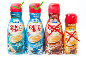 Flavored Coffee We Try 25 Flavors Of Coffeemate Serious Eats