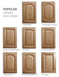 traditional kitchen cabinet door styles popular cabinet door styles cathedral cathedral