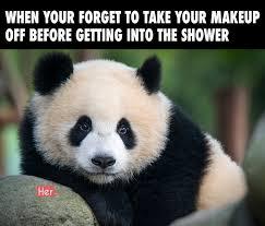 Panda Meme Mascara - panda without makeup new blog wallpapers