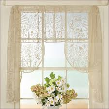 Living Room Privacy Curtains Living Room Curtain Poles Priscilla Sheers Ring Top Curtains