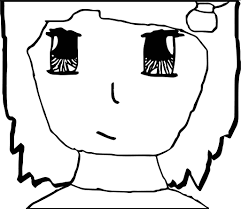 anime face coloring pages wecoloringpage