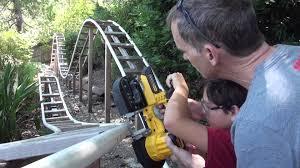 iron dragon backyard roller coaster part 10 youtube