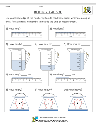 3rd grade measurement worksheets