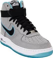 Nike Comfort Footbed Sneakers Nike Air Force 1 Hi Premium Comfort Sneakers In Blue For Men Lyst