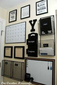 awesome diy family command centers mail holder erase board and