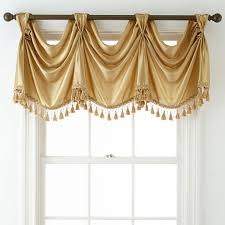 Jc Penney Curtains Valances Royal Velvet皰 Rod Pocket Empire Valance Jcpenney