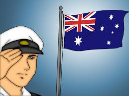 American Flag At Night Rules How To Fly The Australian Flag 3 Steps With Pictures Wikihow