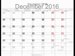 free december 2016 calendar printable with holidays