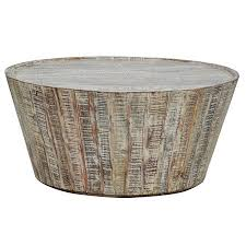 38 round coffee table hton rustic wood round barrel coffee table 38 stuff i must